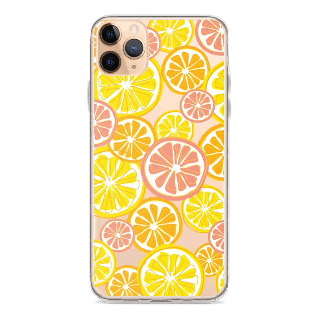 CITRUS Clear iPhone Case
