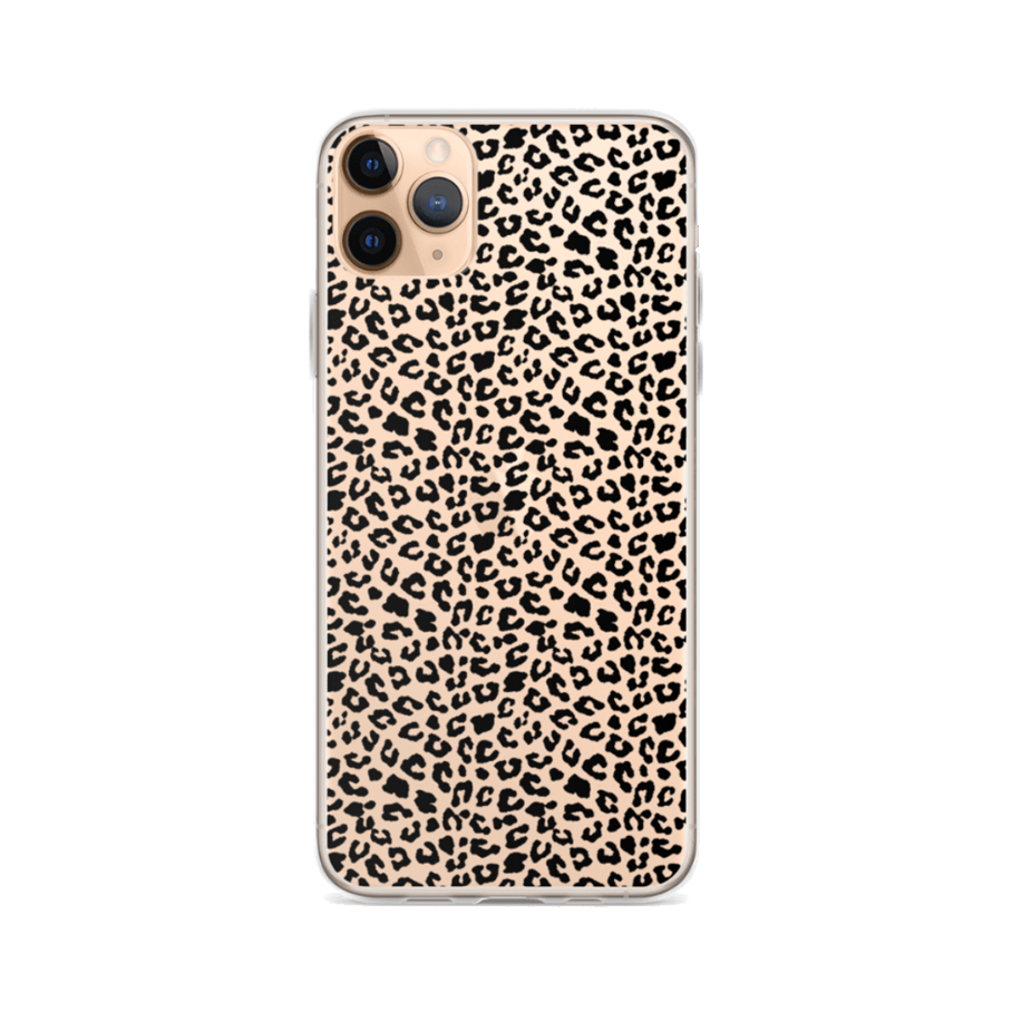 CHEETAH Clear iPhone Case