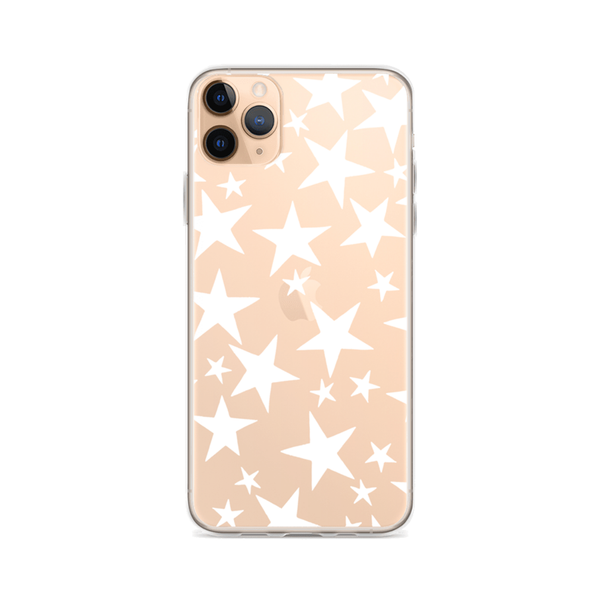 SHINING STAR Clear iPhone Case