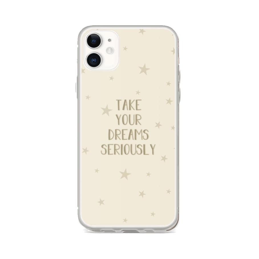 TAKE YOUR DREAMS iPhone Case