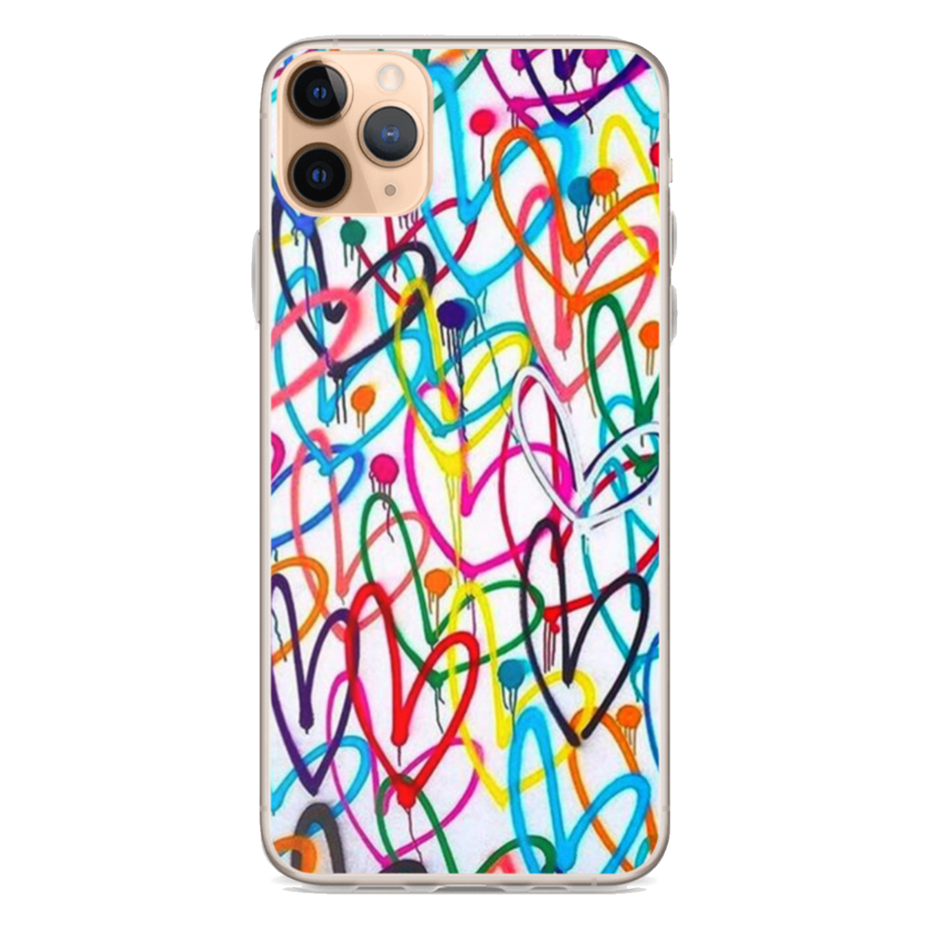 ALL FOR LOVE iPhone Case