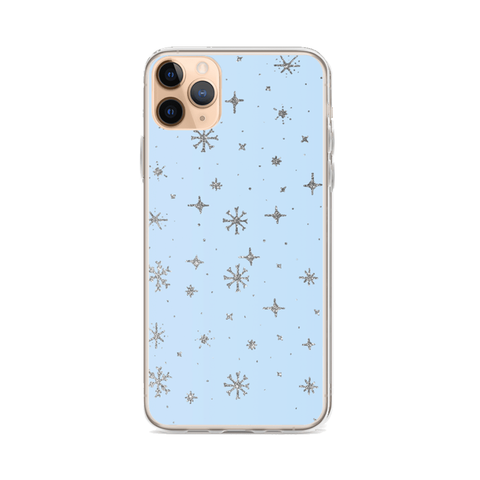 SILVER SNOW iPhone Case