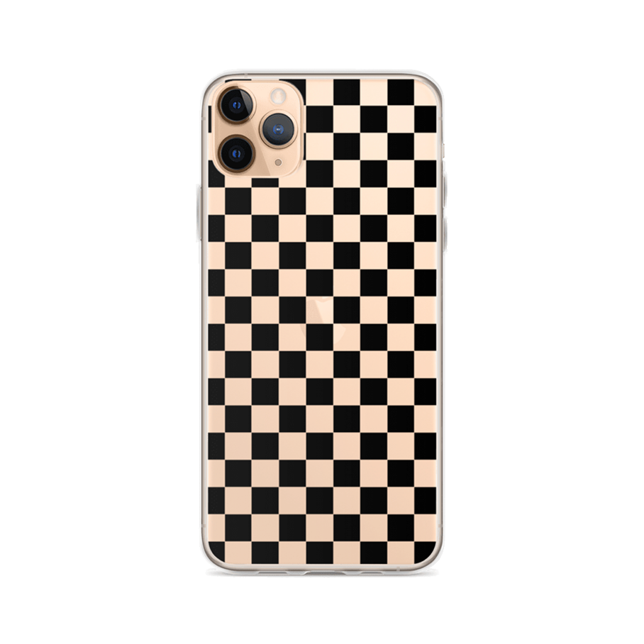 CHECKER Clear iPhone Case