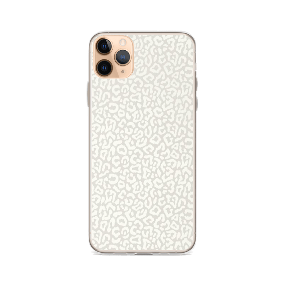 LIGHT LEOPARD iPhone Case