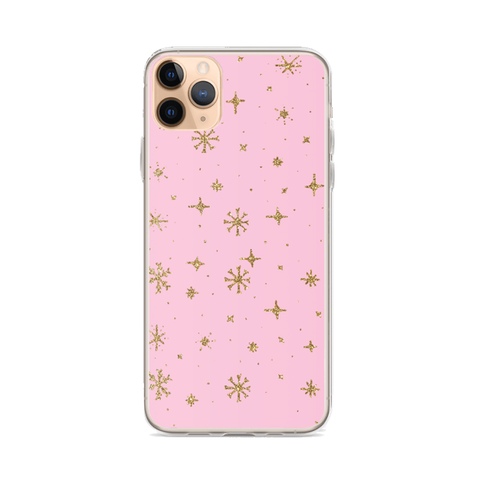GOLD SNOW iPhone Case