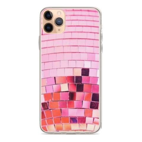 PINK DISCO iPhone Case
