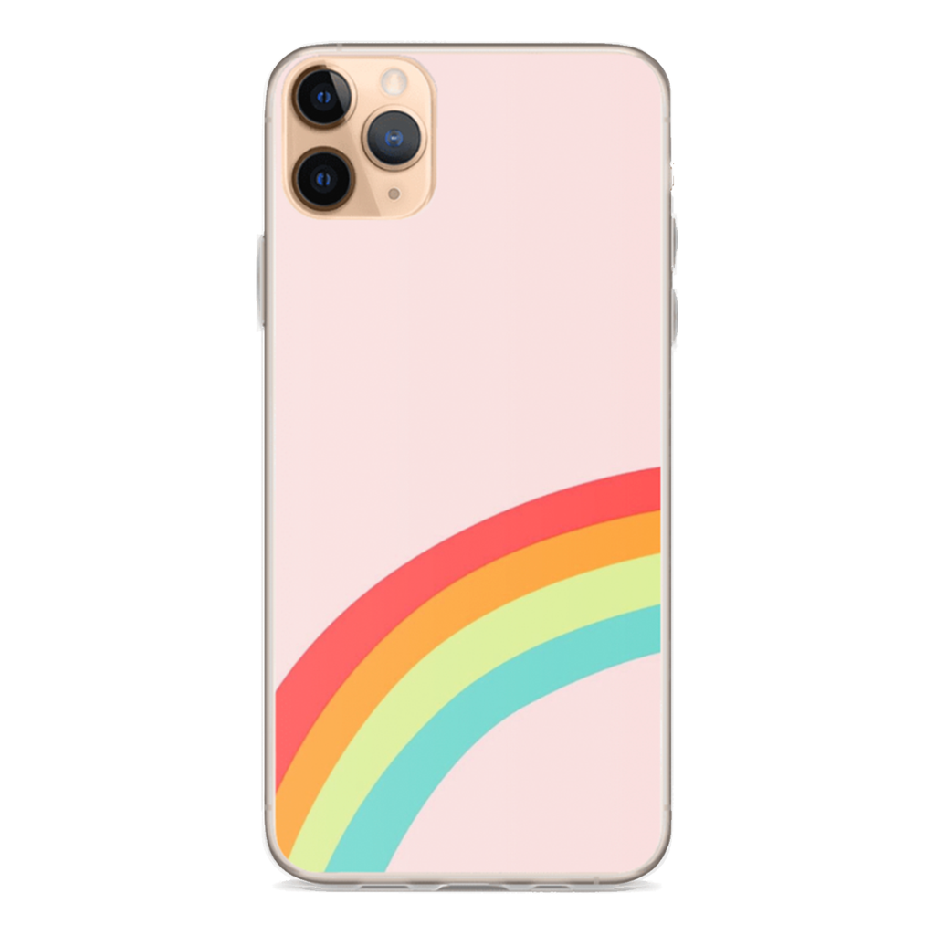 PINK RAINBOW iPhone Case