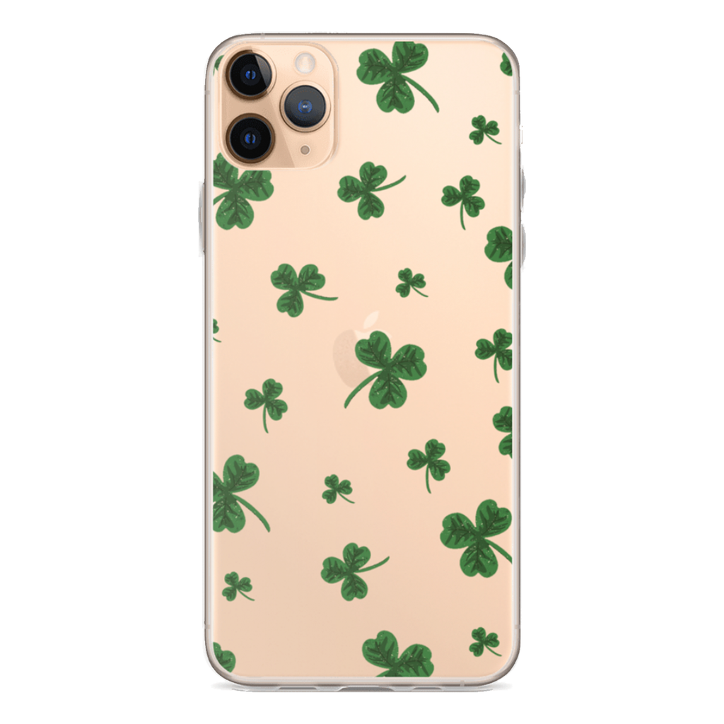 SHAMROCK Clear iPhone Case