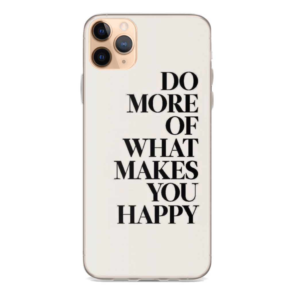 WHAT MAKES YOU HAPPY iPhone Case