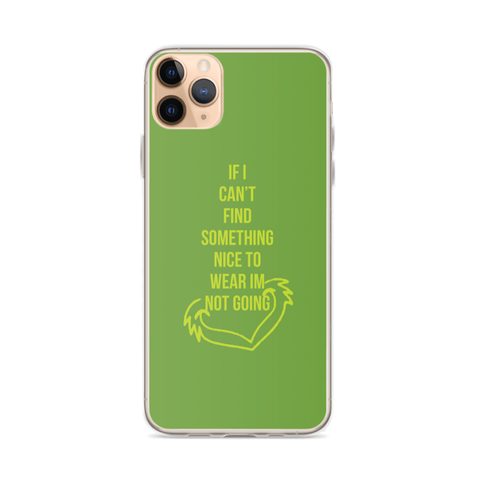 GRINCH iPhone Case