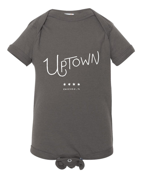 Uptown Baby Onesie - Quill and Crown