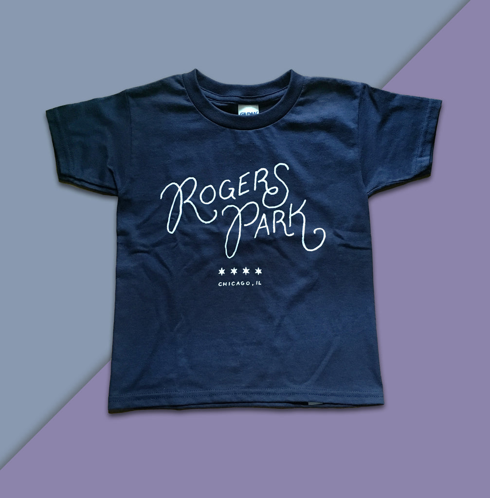 Rogers Park Toddler Tshirt - Quill and Crown