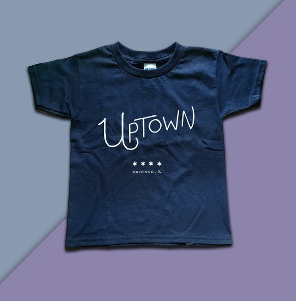 Uptown Chicago Neighborhood Toddler Tshirt - Quill and Crown
