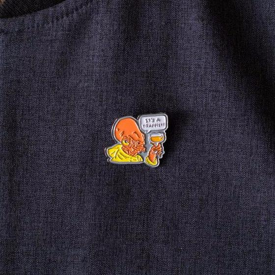 It's a Trappist! - Enamel Beer Pin