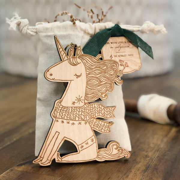 Uli the Unicorn Ornament