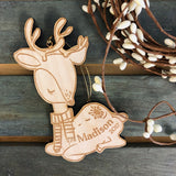 Fern the Fawn (CUSTOMIZABLE) - Child's Name Ornament
