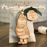 Oakley the Owl (CUSTOMIZABLE) - Child's Name Ornament