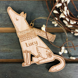 Pup Ornament (CUSTOMIZABLE)