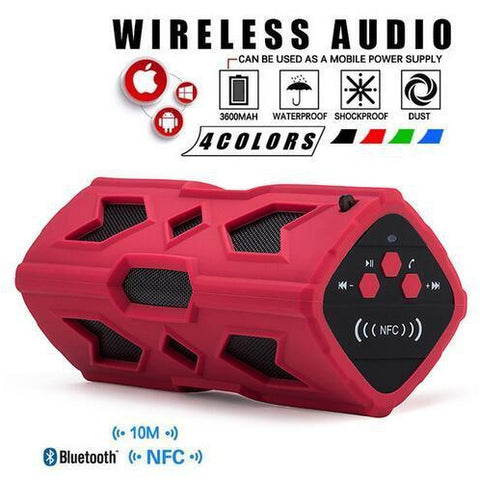 Bluetooth 4.0 Speaker-Phone Accessories-Docs General Store