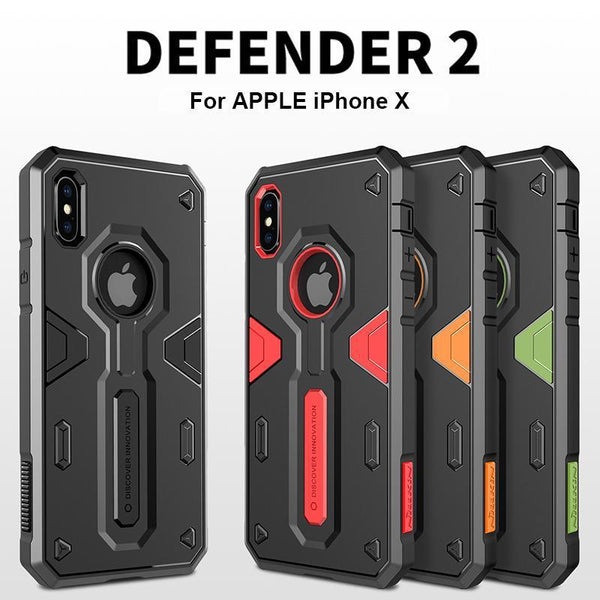 online retailer e40d4 5b3cf iPhone X Tactical Military Grade Case