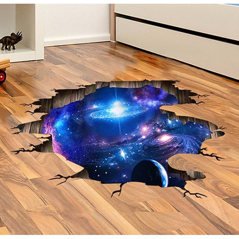 Space 3D Decals-Kids-Docs General Store