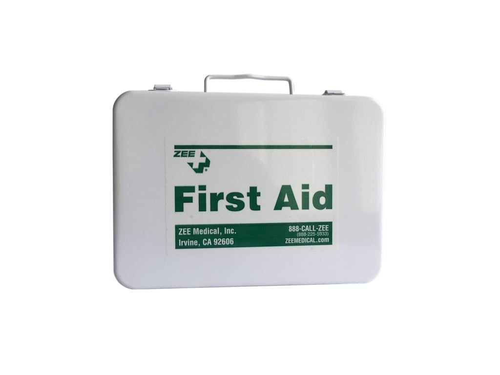 Metal Travel First Aid Kit