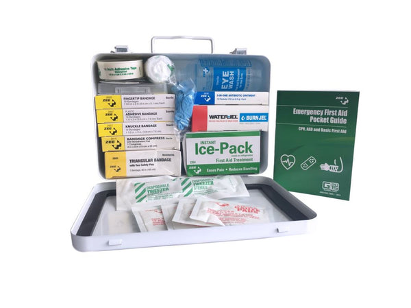 Metal Travel First Aid Kit With Contents