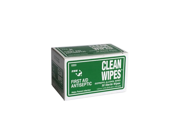 First Aid Antiseptic Clean Wipes
