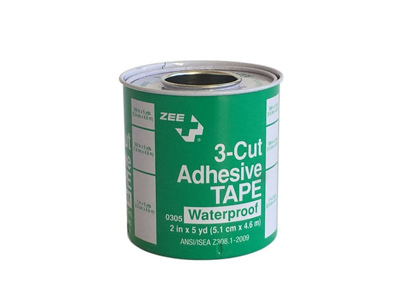 Zee Medical Waterproof Tri-cut Adhesive Tape