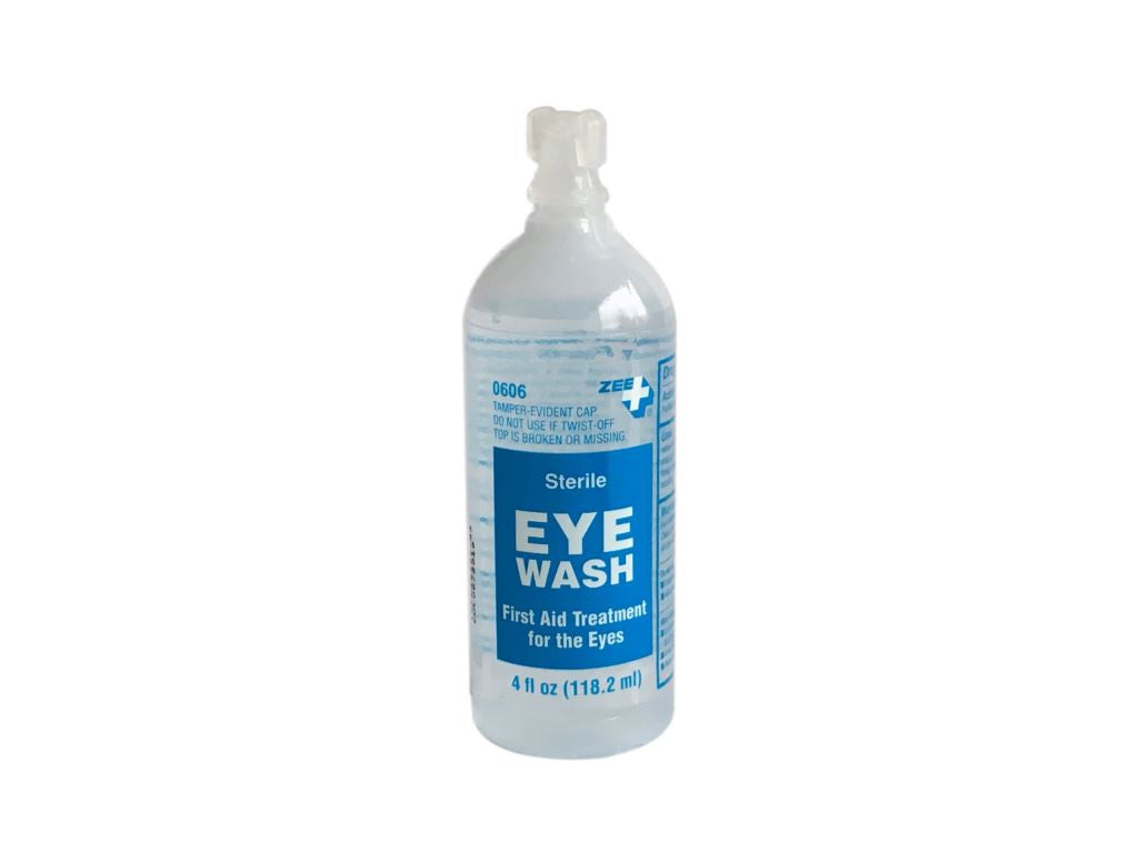 Zee Medical First Aid Eye Wash Treatment 4 ounce bottle