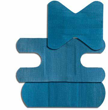 Metal Detectable Blue Knuckle Bandage