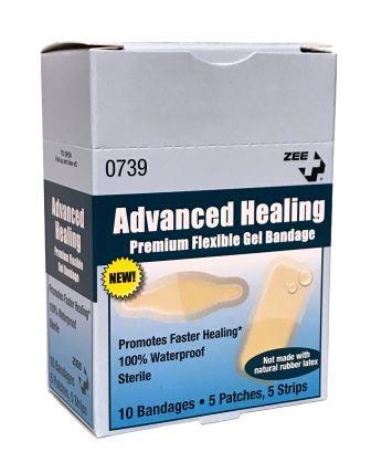 Advanced Healing Premium Flexible Gel Bandage for Blisters with Hydrocolloid Technology