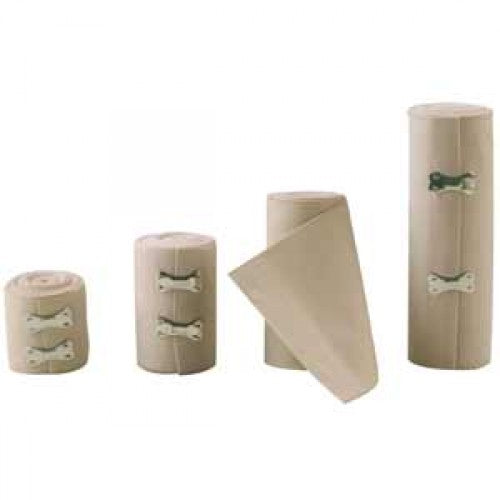 Zee Medical Elastic Bandage with Securing Clips