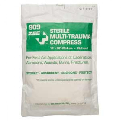 Zee Medical Sterile Multi-Trauma Compress