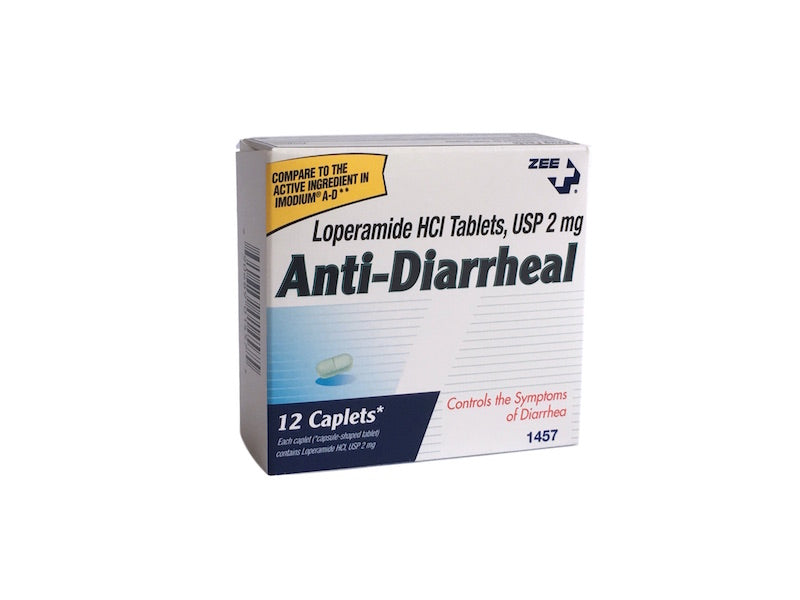 Zee Medical Anti-Diarrheal compare to Imodium A-D