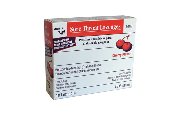 Zee Medical Sore Throat Lozenges