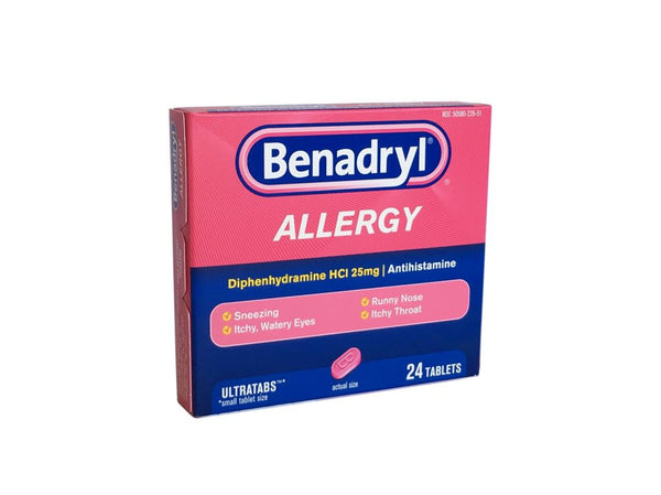 Benedryl Allergy Ultratabs