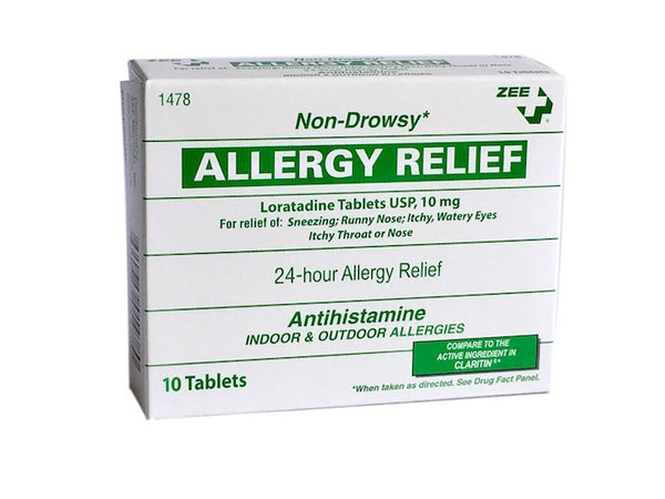 Zee Medical Non-Drowsy Allergy Relief