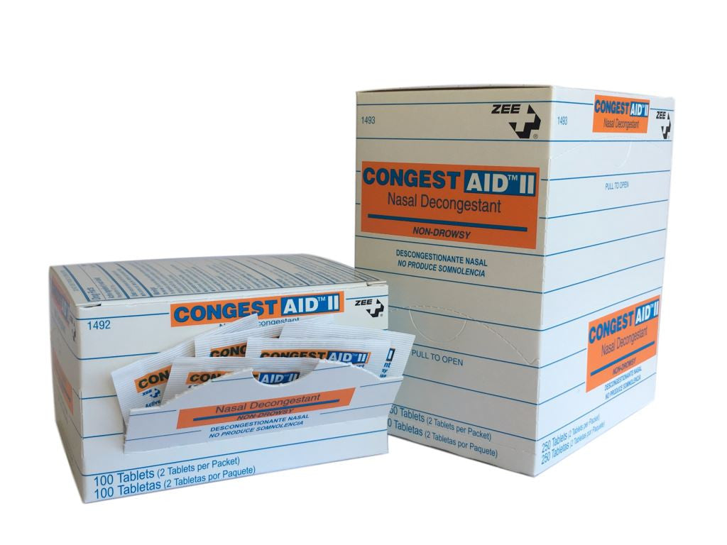 Zee Medical CongestAid Nasal Decongestant