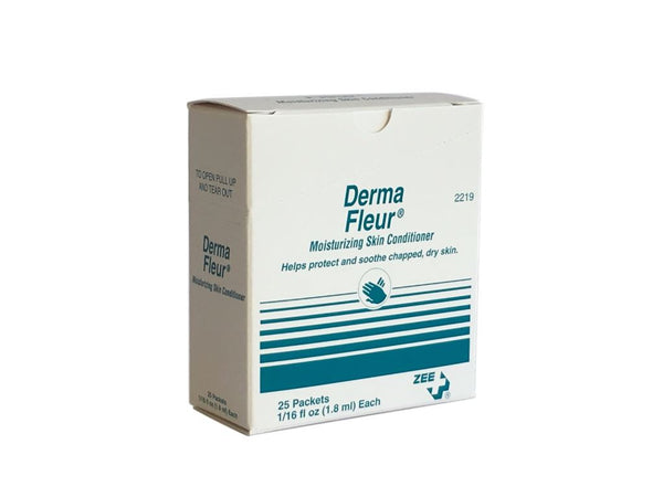 Zee Medical Derma Fleur Moisturizing Skin Conditioner Packets
