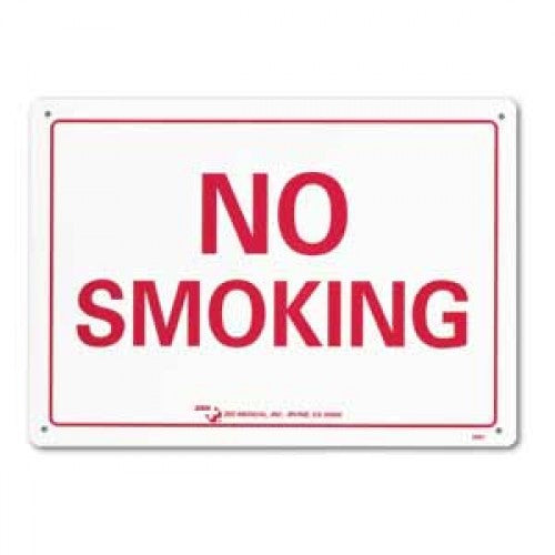 Zee Medical No Smoking Safety Sign Signage
