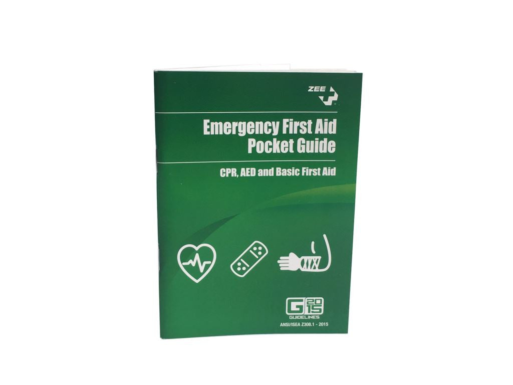 Emergency First Aid Pocket Guide Handbook