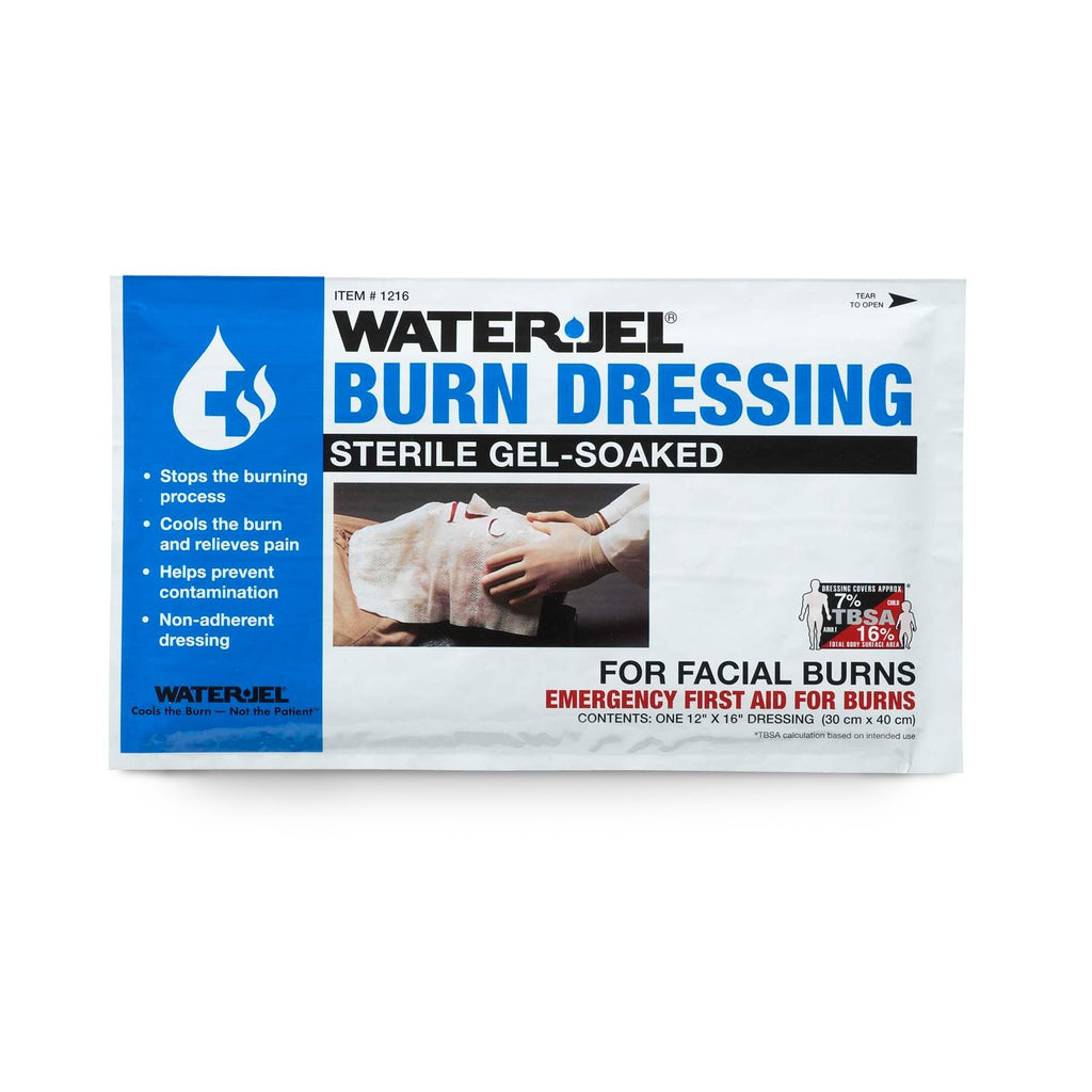 Water-Jel Face Mask Burn Dressing from Zee Medical