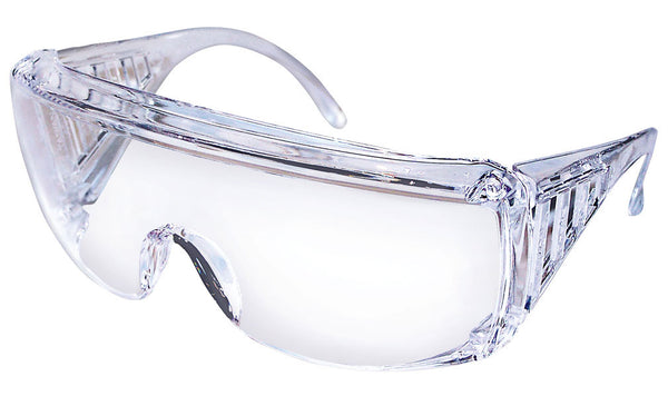Clear Uncoated Yukon Safety Glasses from Zee Medical