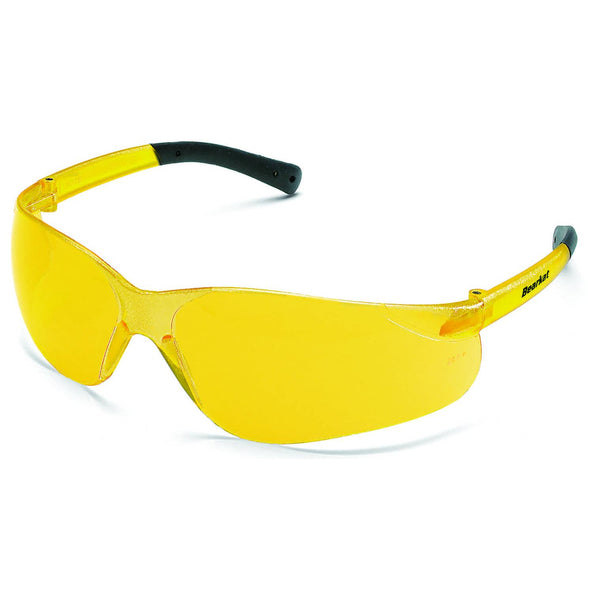 Bearkat Amber Lens Safety Glasses