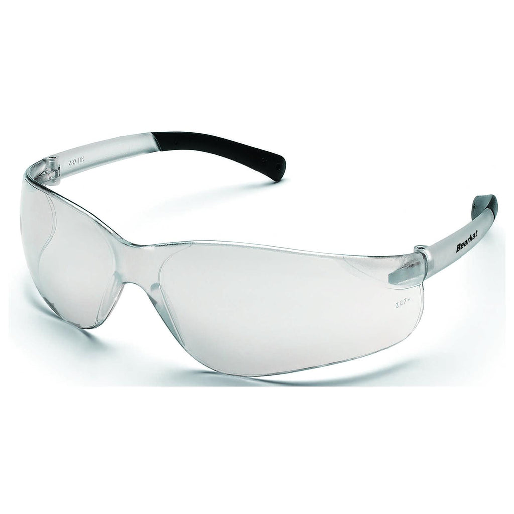 Bearkat Clear Mirrored Safety Glasses (Indoor/Outdoor)