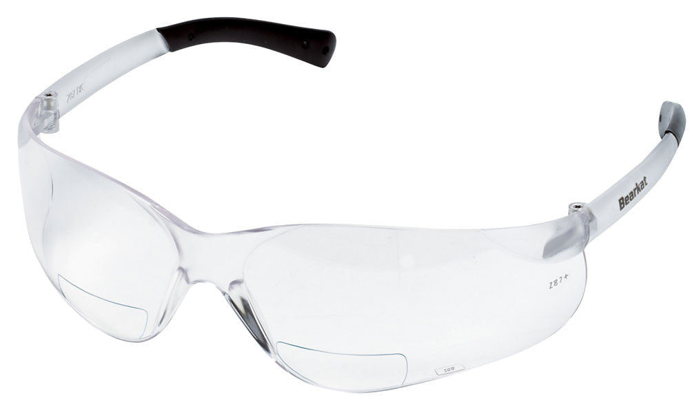 BearKat Magnifiers Clear Lens Safety Glasses