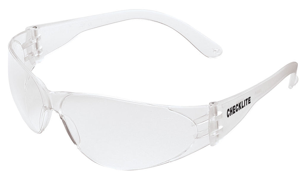 Zee Medical Checklite Clear Lens Safety Glasses