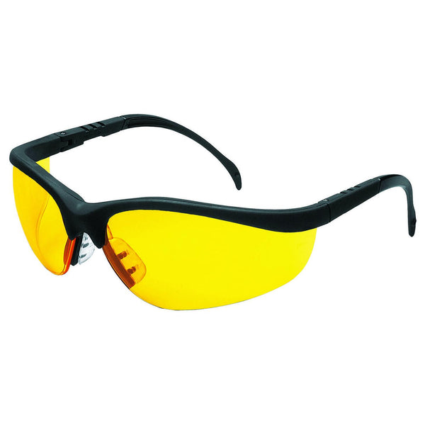 Crews Klondike Amber Lens Safety Glasses