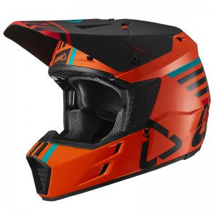CASCO LEATT GPX 3.5 NARANJA